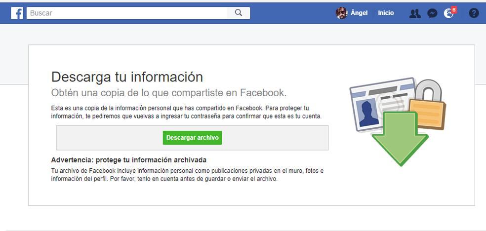 Cómo ver lo que Facebook sabe de ti (y vende a los anunciantes)
