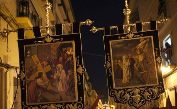 Jesús de la Misericordia y Virgen del Gran Poder, el Jueves Santo de Málaga