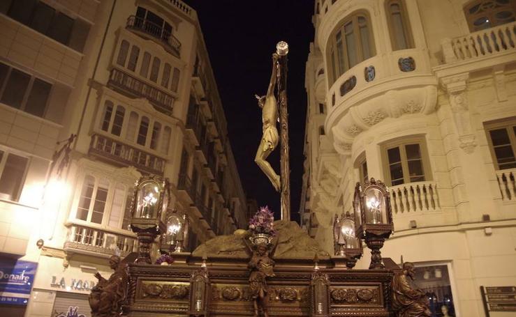 Recorrido del Cristo de la Vera-Cruz de Málaga