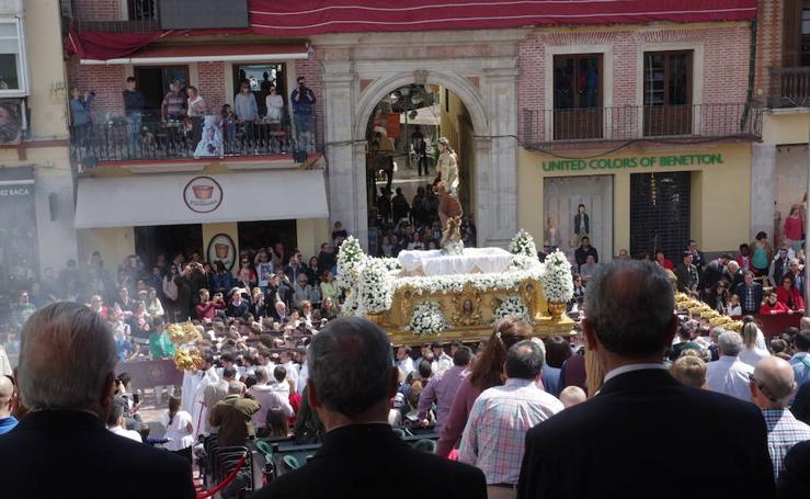 El Resucitado, en procesión el Domingo de Resurrección de Málaga 2018