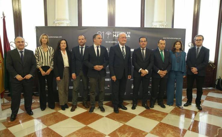 Presentación de los contenidos del Festival de Cine de Málaga