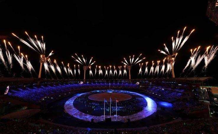 Así ha sido la inauguración de los Juegos de la Commonwealth