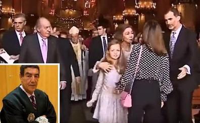 El mensaje del juez Catalayud a la reina Letizia