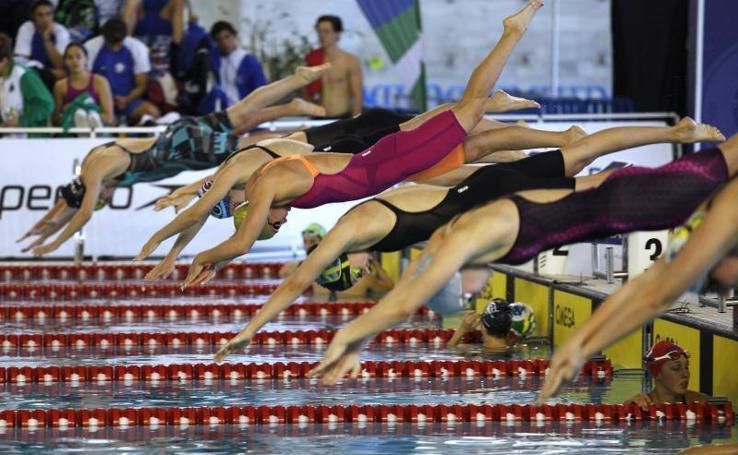 Las mejores imágenes del Campeonato de España de natación
