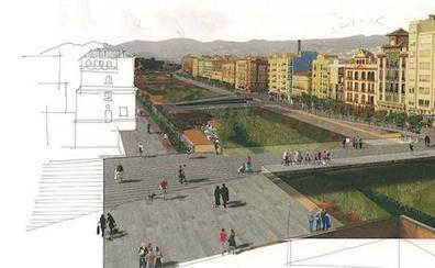 El plan de los 'puentes-plaza' para el Guadalmedina se demora dos meses