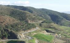 Carretera paisajística Carratraca-Álora