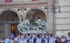La Patrona de Málaga presidirá el altar de la magna en la carroza del Corpus Christi