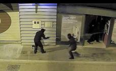 Condenados a cárcel dos acusados de robar con explosivos en diversos bancos de Málaga