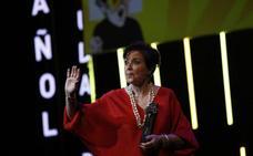 Mónica Randall reivindica el cine de la Transición