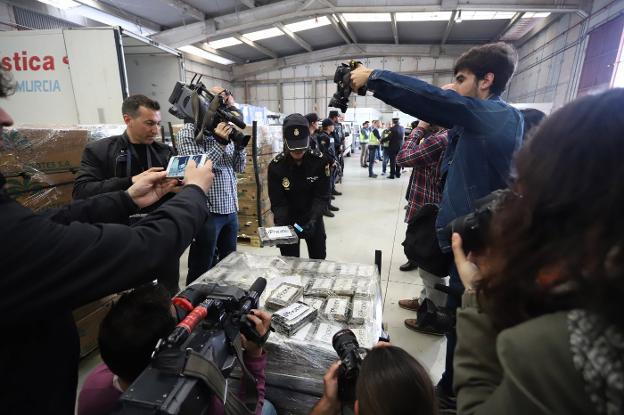 Incautado En Algeciras El Mayor Alijo De Coca De La Historia