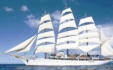 Cinco cruceros coinciden este jueves en el puerto de Málaga