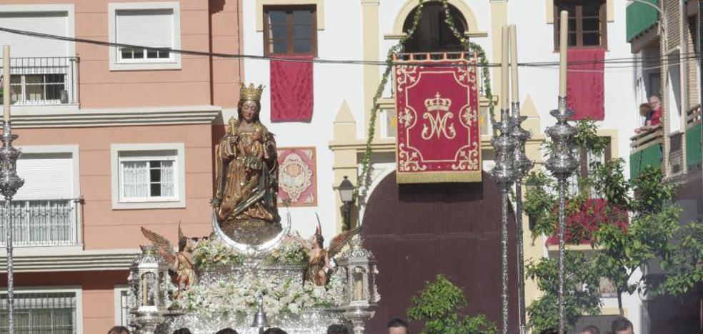 La Virgen de la Victoria baja a la Catedral de forma extraordinaria