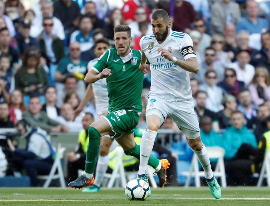 Las mejores imágenes del Real Madrid-Leganés