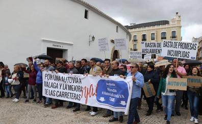La plataforma por la autovía de Ronda busca el apoyo de los ayuntamientos de la comarca y de la Junta