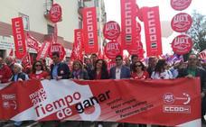 Miles de andaluces reclaman empleo de calidad, igualdad y pensiones dignas en la manifestación del Primero de Mayo