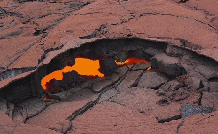 Despierta el volcán Kilauea en Hawai