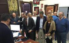 Pablo Atencia se garantiza la reelección en la Agrupación al presentar el aval de 33 de las 41 cofradías de Málaga