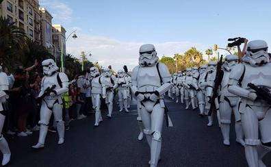 La Legión 501 de Star Wars ya recorre Málaga