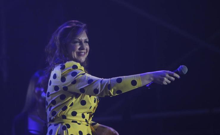 Niña Pastori regresa a Málaga para cantar a su público más fiel