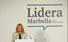 Ángeles Muñoz reivindica la potencia turística de la ciudad en el primer Foro 'Lidera Marbella'