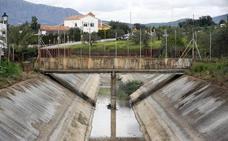 La campaña de riego de verano en el Guadalhorce se retrasa hasta mañana