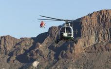 Rescatan en helicóptero a un niño tras una caída en el Teide