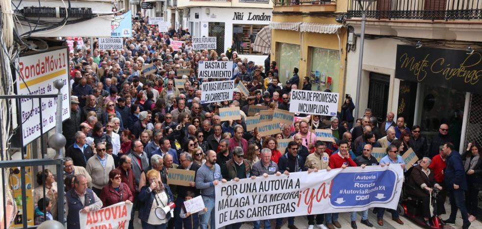 El PP reclama a la Junta que conecte Ronda por autovía con Málaga y Sevilla