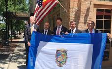 La bandera de la provincia de Málaga ondeará en la ciudad norteamericana de Pensacola