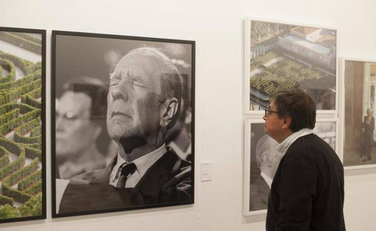 Fotos de 'Borges & Kodama: encuentro infinito', en La Térmica