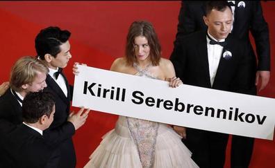 Dos directores presos, uno en Rusia y otro en Irán, no acuden a Cannes