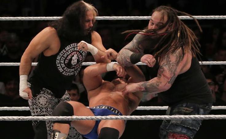 El espectáculo de la WWE Live, en Málaga