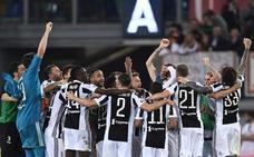La Juventus empata en Roma y se proclama campeona