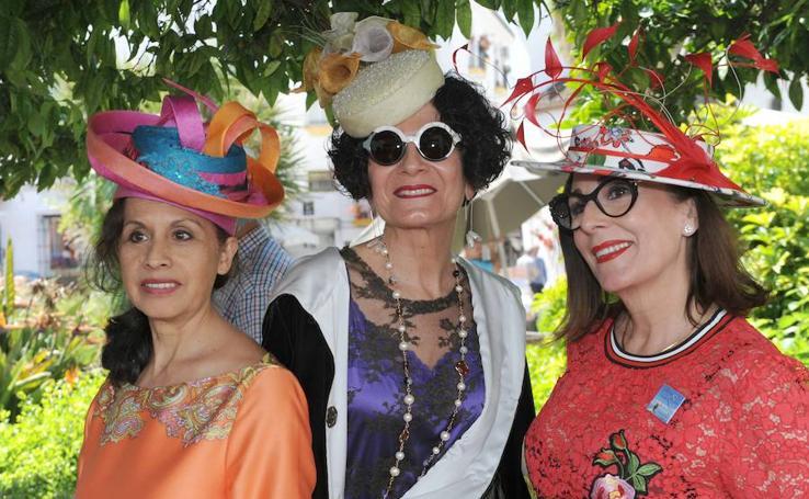 Fotos del 'Paseo con sombrero' celebrado en Marbella
