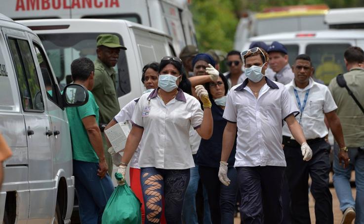 Un avión se estrella en Cuba tras despegar del aeropuerto de La Habana con 113 personas