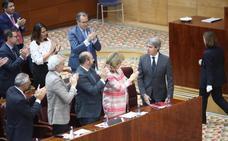 Garrido, investido presidente en Madrid con los votos de PP y C's