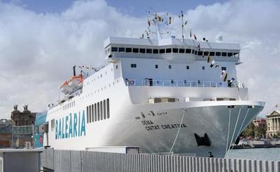 Baleària retoma el 3 de junio la línea entre Málaga y Melilla