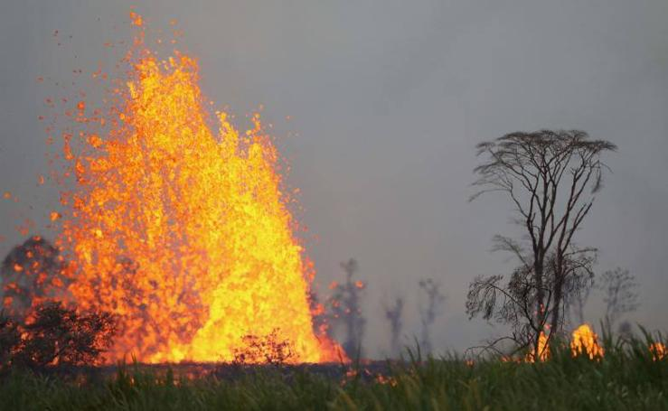 Las espectaculares fotos de la lava del volcán Kilauea en Hawái