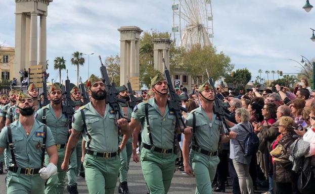 27 De Mayo Así Será El Desfile De La Legión De Este Domingo En Málaga Diario Sur