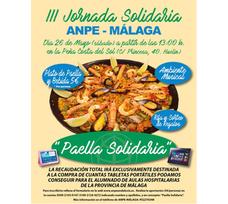 El sindicato ANPE organiza una paella solidaria en Huelin a beneficio de las aulas hospitalarias