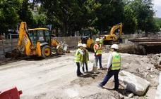 Aparecen nuevos restos arqueológicos en las obras del metro en la Alameda
