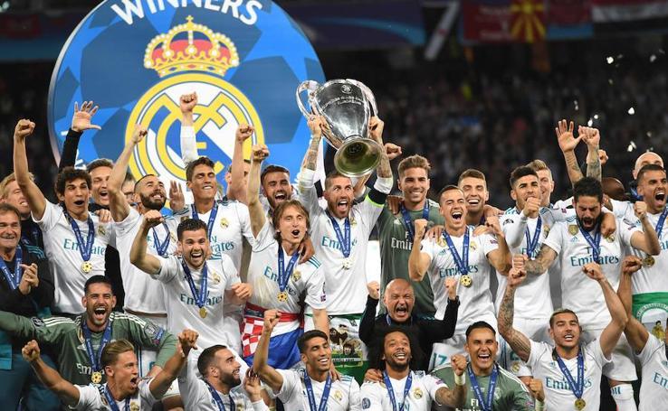 Las mejores imágenes de la celebración del Real Madrid