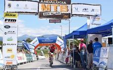 'Quillo' Márquez gana la etapa y Carrasco es el nuevo líder de la Vuelta Andalucía MTB