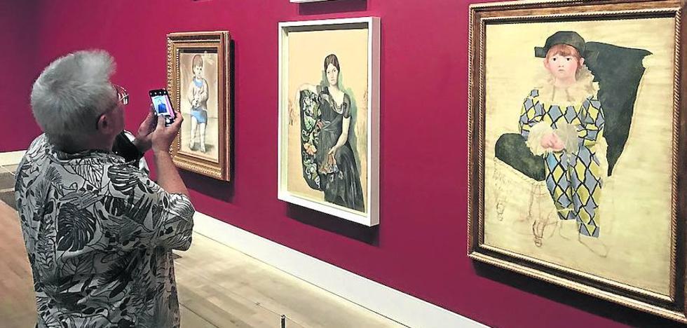 Picasso sigue pintando