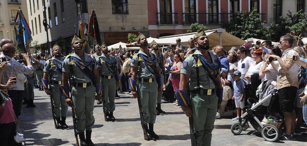Así ha sido el desfile de La Legión de este domingo en Málaga