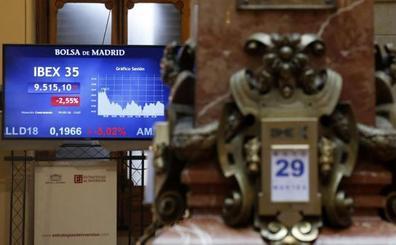 Terremoto en las Bolsas y en la deuda