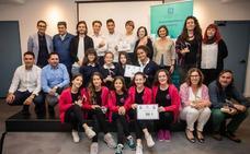 Estudiantes del IES Benalmádena dicen 'no al tabaco'