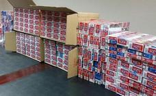 Intervienen 1.020 cajetillas de tabaco de contrabando en Málaga