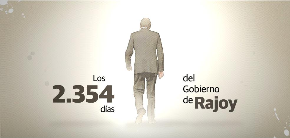 Rajoy se despide en el Congreso: «Suerte a todos ustedes por el bien de España»