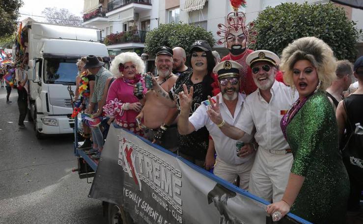 Así ha sido el desfile del del Orgullo LGTBI en Torremolinos