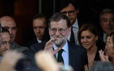 Rajoy destaca los «históricos» datos de empleo: «Sigamos trabajando por el interés general»